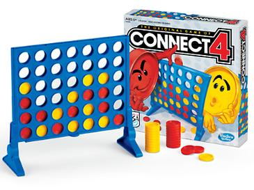 Connect Four Board and Box
